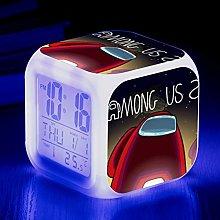 Digital Alarm Clock, Small Alarm Wake-up Light,