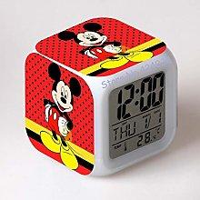 Digital alarm clock toy clock print cartoon small