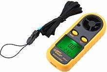 Digital Anemometer, Walfront Smart Sensor AR816+