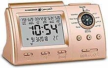Digital Azan Clock With Compass Muslim Prayer Time