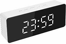digital clock alarm clocks bedside mains powered