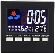 Digital Clock Backlight Sound Control