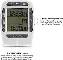 Digital Countdown Clock, Digital LCD Timer,