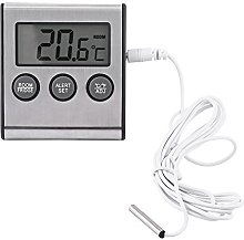 Digital Fridge Thermometer with Large LCD Display