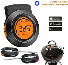 Digital Instant Read Meat Thermometer, Bluetooth