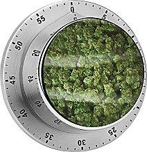Digital Kitchen Timer Magnetic Alarm Clock, A Big