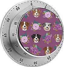 Digital Kitchen Timer Magnetic Alarm Clock, Aussie