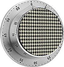 Digital Kitchen Timer Magnetic Alarm Clock, Black