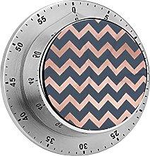 Digital Kitchen Timer Magnetic Alarm Clock, Blue &
