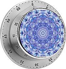 Digital Kitchen Timer Magnetic Alarm Clock, Blue