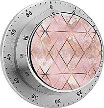 Digital Kitchen Timer Magnetic Alarm Clock, Copper