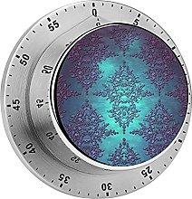 Digital Kitchen Timer Magnetic Alarm Clock, Fancy