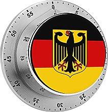Digital Kitchen Timer Magnetic Alarm Clock, Flag