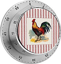 Digital Kitchen Timer Magnetic Alarm Clock, French
