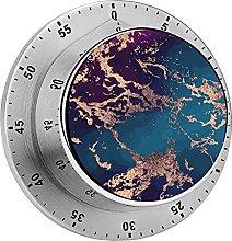 Digital Kitchen Timer Magnetic Alarm Clock, Marble