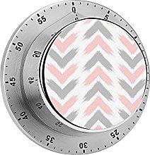 Digital Kitchen Timer Magnetic Alarm Clock, Modern