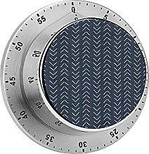 Digital Kitchen Timer Magnetic Alarm Clock, Mud
