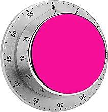 Digital Kitchen Timer Magnetic Alarm Clock, Solid