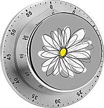Digital Kitchen Timer Magnetic Alarm Clock, Trendy