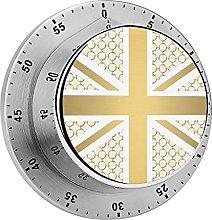 Digital Kitchen Timer Magnetic Alarm Clock, UK