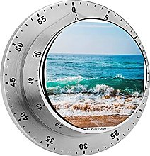 Digital Kitchen Timer Magnetic Alarm Clock, with