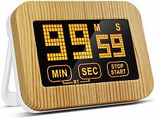 Digital Kitchen Timer Magnetic Countdown Clock