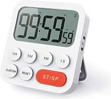 Digital Kitchen Timer with Digital Clock Function,