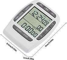 Digital LCD Timer, Small Digital Countdown Clock,