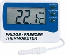 Digital Min Max Fridge Freezer Alarm Thermometer -