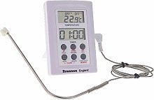 Digital Probe Thermometer with Timer