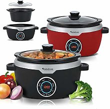 Digital Slow Cooker 3.5 L with Timer, Keep Warm