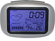 Digital Table Desktop Snooze Alarm Clock, Home