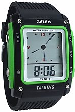Digital Talking Clock with Sound in Italian with