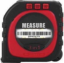 Digital Tape Measure - 3-in-1 Multi-Functional
