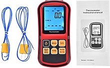 Digital Thermocouple Thermometer Dual-Channel LCD