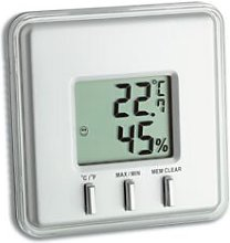 Digital Thermometer and Hygrometer Symple Stuff
