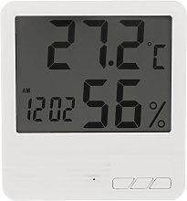 Digital Thermometer Hygrometer White