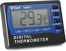 Digital Thermometer,Roeam Vici Mini LCD Digital