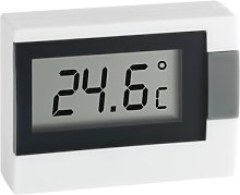 Digital Thermometer Symple Stuff Colour: White