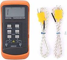 Digital Thermometer, Temperature Meter DM6802B LCD