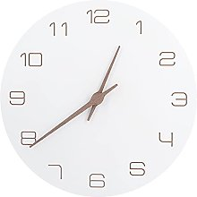 Digital Wall Clock, Wooden Kitchen Clock for