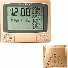 Digital Wall Muslim Azan Clock Pray Alarm Clock