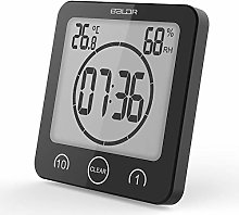 Digital Waterproof Shower Clock Temperature Sensor
