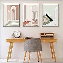 DIHEFA Abstract Art, Canvas, Poster, Scandinavian
