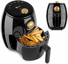 Dihl 2L Air Fryer Black Gold Rapid Healthy Cooker