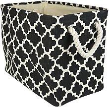 DII CAMZ36068 Collapsible Polyester Storage Basket