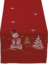 DII Christmas Holiday Embroidered Table Runner 14