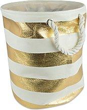 DII Collapsible Laundry Hamper/Storage Basket,