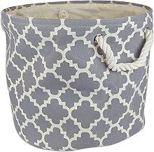 DII Collapsible Polyester Storage Basket or Bin