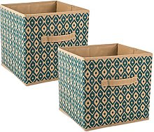 DII Fabric Storage Bins for Nursery, Offices, &